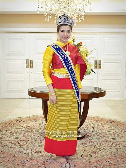 ชุดไทยสี่ภาค